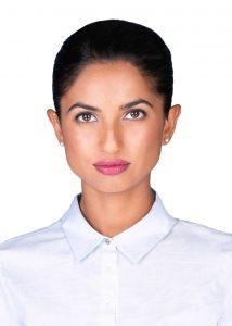 Canadian passport photo of women